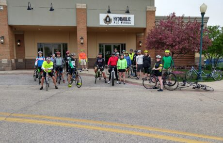 Bike Riders Downtown Elkhart