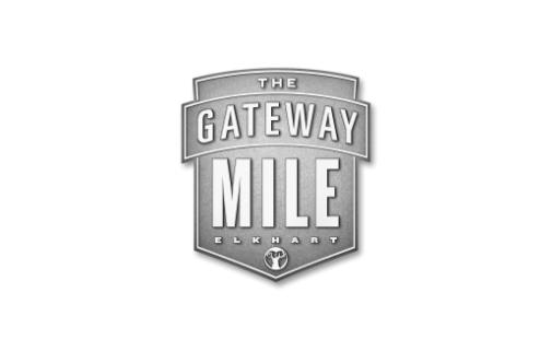 The gateway mile logo